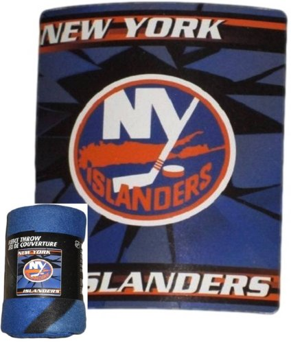 The Northwest Company NHL Licensed - New York Islanders - Lightweight Fleece Throw Blanket (50x60)