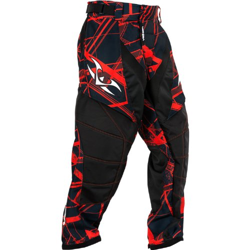Valken Crusade Hatch Pants, Red, X-Small