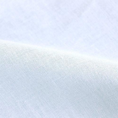 メリーナイト日本製綿100%ガーゼ毛布カバーシングルサックス5241-76