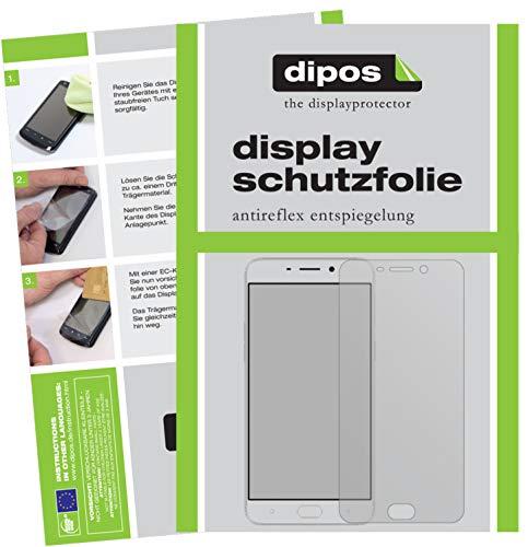 dipos I 6X Schutzfolie matt kompatibel mit Oppo F1 Plus Folie Bildschirmschutzfolie