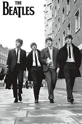 "Trends International Beatles-in London Wall Poster, 22.375"" x 34"", Unframed Version"