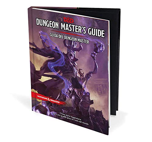 Asmodee Italia- Dungeons & Dragons-5a Edizione-Guida del Dungeon Master, Colore, 4003