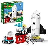 LEGO 10944 Duplo Town Mission de la Navette Spatiale, Jeu pour Les Enfants de 2 Ans et Plus avec des Figurines d'Astronautes