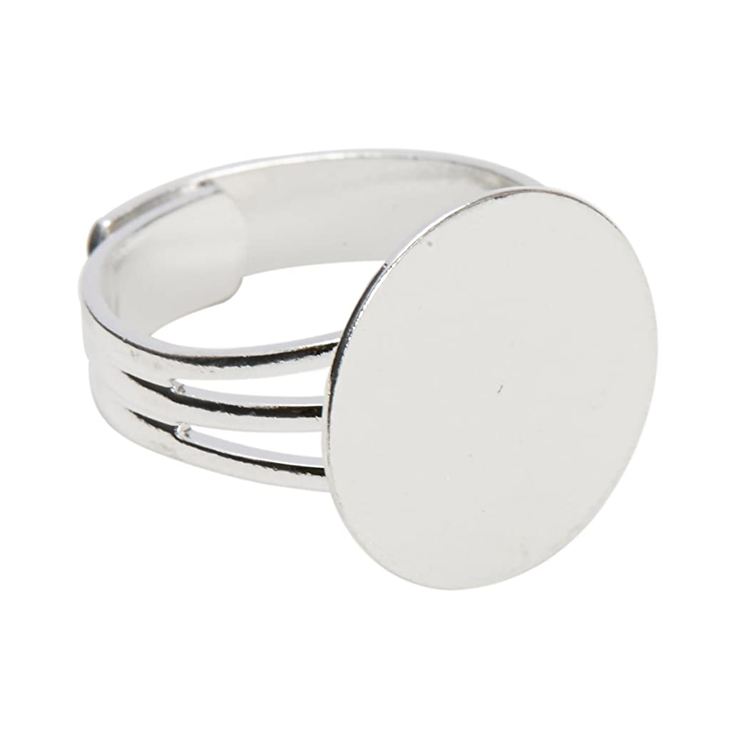 Adjustable Ring Blanks (Silver)