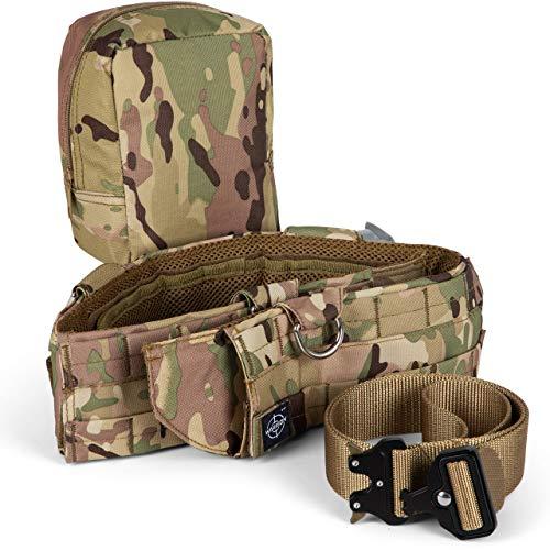 Warrion Tactical Battle Combat Belt - Military Inner Waist Belt with...