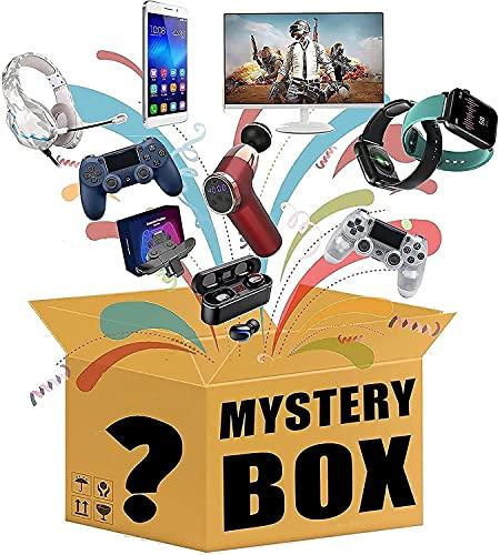 Mystery Box, Mystery Box Electronics, Mystery Boxes Random, Lucky Box para Adultos Sorpresa Regalo, ¡Este es un Juego sobre la Suerte y el Combate de Aventuras es Posible!