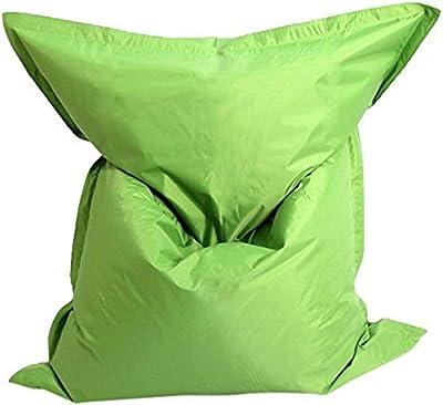 MESANA S-10075/27 Premium Outdoor Riesensitzsack Mr. Big mit Innensack, 140 x 180 cm, grün