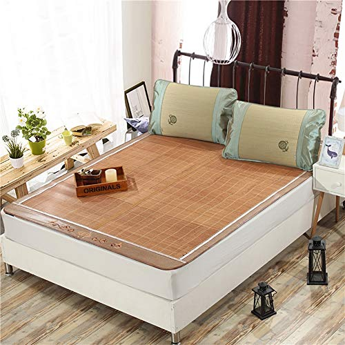 HEXbaby Rattan Cooling Queen Size Ancient Summer colchón para Dormir colchón Topper,90x190cm