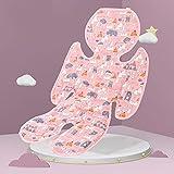 UTOBY Funda de asiento para cochecito de bebé, universal, para verano, para cochecito, silla de paseo y asiento infantil, enfría y protege el asiento de las manchas.