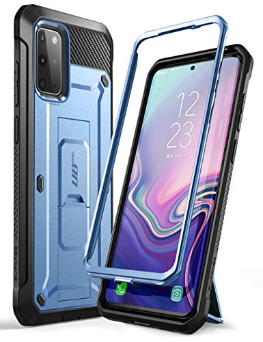 SupHülle Outdoor Hülle für Samsung Galaxy S20+ Plus Handyhülle Bumper Hülle Rugged Schutzhülle Cover [Unicorn Beetle Pro] 6.7 Zoll OHNE Bildschirmschutz mit Gürtelclip & Ständer 2020 Ausgabe (Blau)