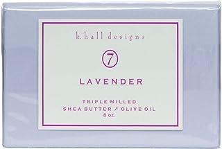 k. Hall Designs Lavender Bar Soap 8 oz.