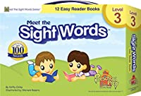 Meet the Sight Words - Level 3 - Easy Reader Books (boxed set of 12 books) 1935610023 Book Cover