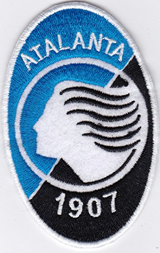 MAREL Patch Atalanta Calcio Club Football Serie Replica cm 5,5x9 Toppa Ricamo -1000