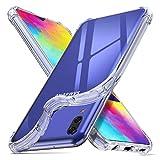 ORNARTO Hülle für Samsung M20, Transparent Soft TPU