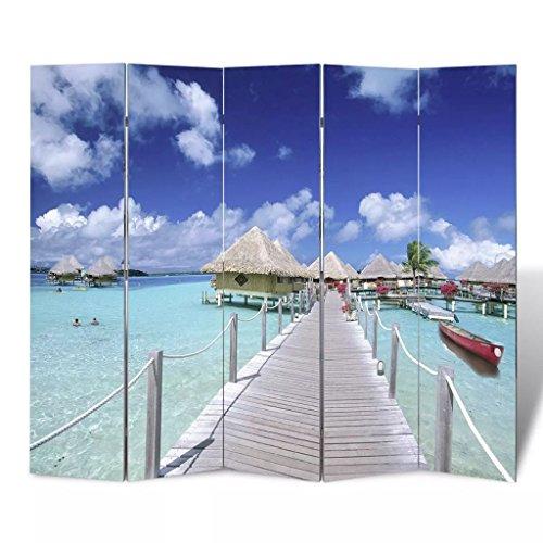 Luckyfu Questa Parete divisoria privacy divisorio 200 x 180 spiaggia.La Parete divisoria in grado di Separare uno Spazio Privato per la camera.pannelli separe separe divisorio interno