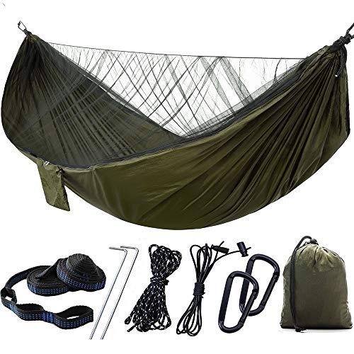 Trihedral-x Netten kunnen automatisch worden geopend worden opgewaardeerd snelheid parachute geopend muskietennetten dubbele hangmat outdoor hangmat