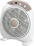 Jata VS3010 Ventilador de Suelo con Temporizador de 60 Minutos, 40 W, Plástico, Blanco