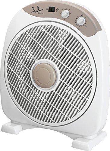 Jata VS3010 Ventilador de Suelo con Temporizador de 60 Minutos, 40 W, Blanco
