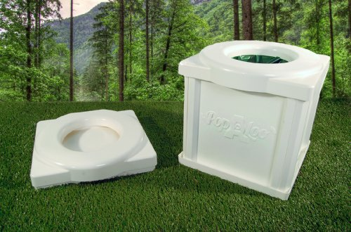 Popaloo - Portable Camping Toilet.