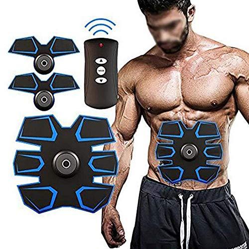 Elektrostimulatoren EMS Muskelstimulator, Bauchmuskel Toner Abs Trainer Fitness Trainingsausrüstung ABS Fit Gewicht Muskeltraining Bauchgurtstraffung Gym-Workout Maschine