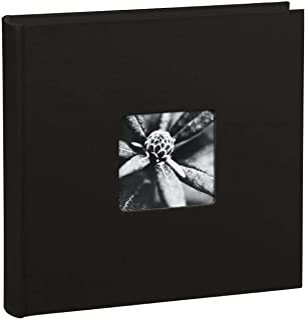 """Hama Album Photo """"Fine Art"""" (format 30 x 30 cm, 100 pages noires, sans spirale) Noir"""