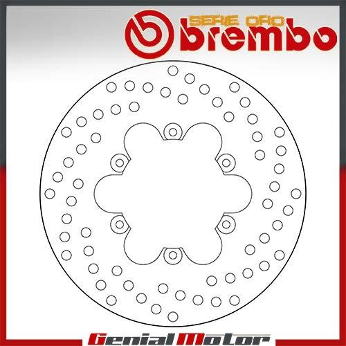 68B40735 Disco Freno Fijo Brembo Serie Oro Posterior por Velvet 150 2000 > 2004