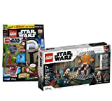 Lego 75310 Star Wars Duell sobre Mandalore + cuaderno Lego Star Wars nº 75 (cómics, póster) con at-ST Raider