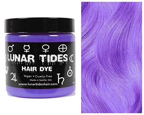 Lunar Tides Hair Dye - Iris Pastel Purple Semi-Permanent Vegan Hair Color (4 fl oz / 118 ml)