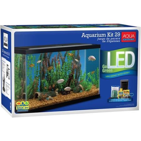 Aqua Culture Aquarium Starter Kit, 29 Gallon