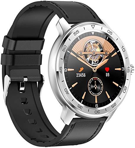 Lloow SmartWatc Watch, Smart Watch Frauen Schlaganfall IP68, Smartwatch mit Herzfrequenz Gesunde Pflege, Schlafmonitor Kalorienzähler Smart Armband,C