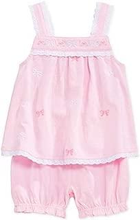 Baby Girls' 2-Piece Top & Bloomers Set