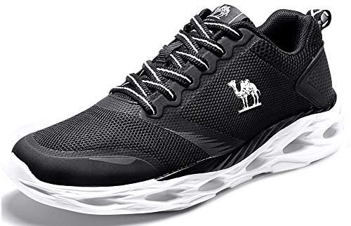 CAMELSPORTS Women's Running Shoes Cushioning Breathable Ultra Lightweight Casual Fashion Sneakers Black