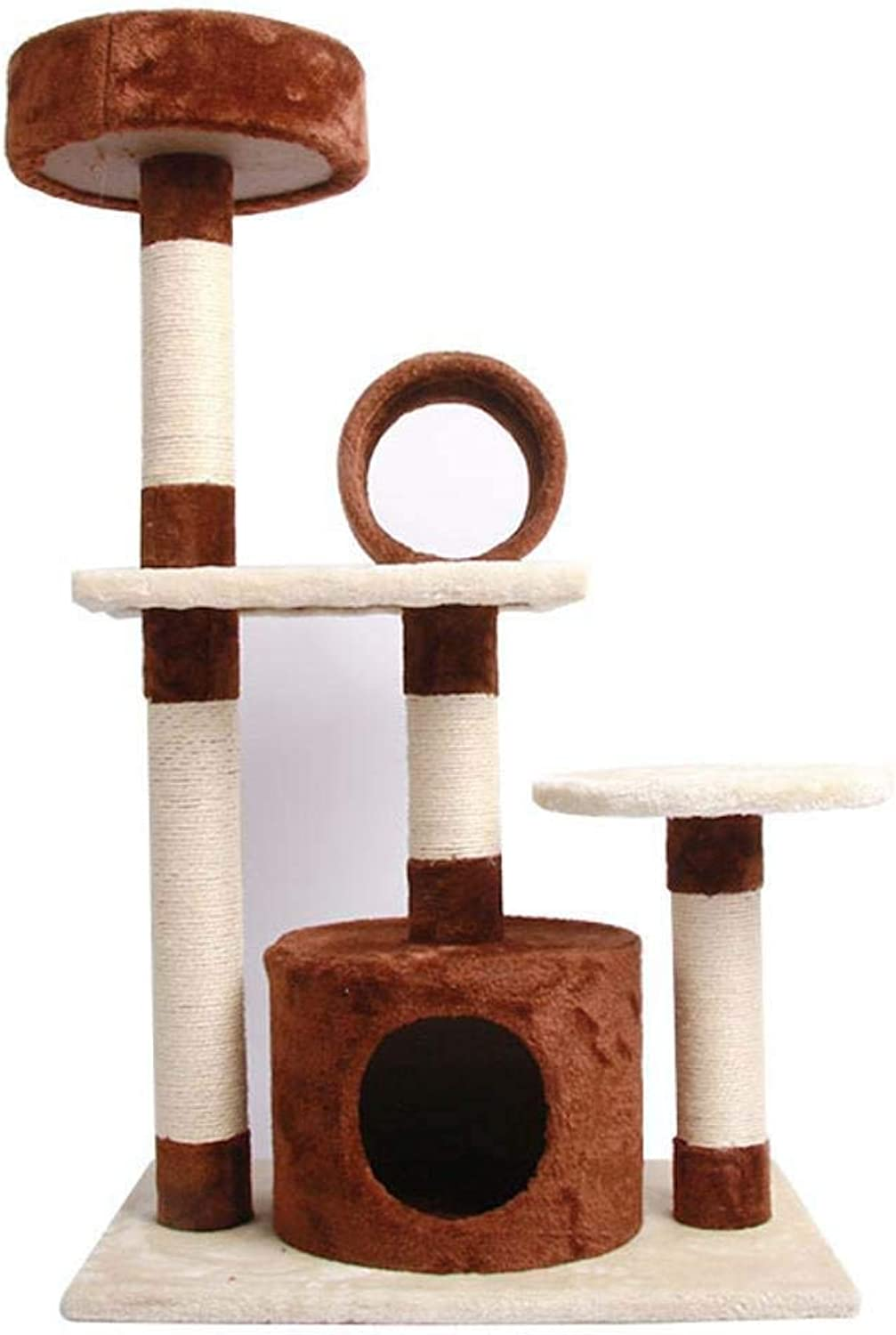 Axiba Play Towers Trees for Cats Cat climbing frame Cat Nest sisal column cat jumping for sleeping games 80cm 42cm  102cm
