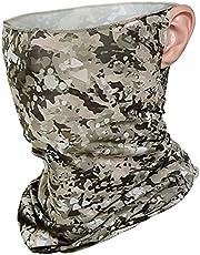 keland Ice Silk Oorlus UV Bescherming Gezichtsmasker Zonnescherm Ademend Hoofdband Balaclava Bandana Neck Gaiter Halsband