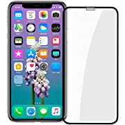 Thrikgold iPhone XR Privacy Screen Protector [Updated Design] [Case Friendly] [3D Curved] 9H Hardness Tempered Glass Screen Protector, for Apple iPhone XR