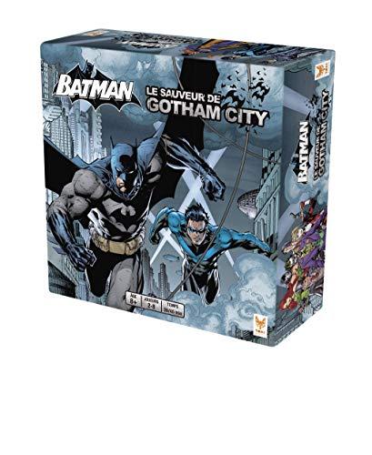 """Topi Games – Batman """"Le Sauveur de Gotham"""" – BAT-599001 - Gesellschaftsspiel, französischsprachige Ausgabe"""