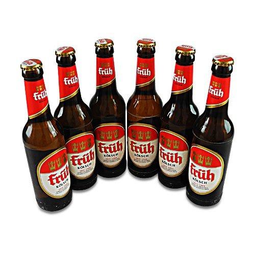 Früh Kölsch (6 Flaschen à 0,33 l / 4,8 % vol.) inc. 0.48€ MEHRWEG Pfand