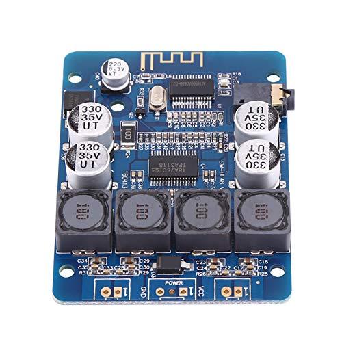 Cosiki Regalos de Abril Placa amplificadora de Potencia, módulo Amplificador de Potencia, DC electrónico de Doble Canal 30W + 30W para emparejamiento Bluetooth 4Ohm, 6Ohm, 8Ohm