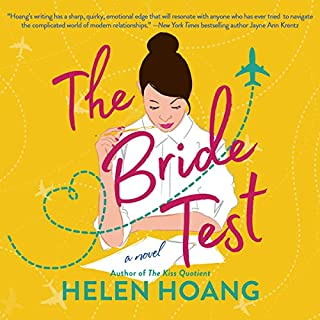The Bride Test                   By:                                                                                                                                 Helen Hoang                               Narrated by:                                                                                                                                 Emily Woo Zeller                      Length: 10 hrs     877 ratings     Overall 4.6