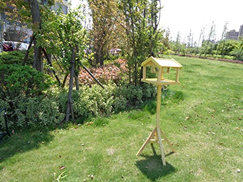 Unibos Have Duty Premium Bird Table with Built in Feeder with Built in Feeder New