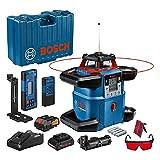 Bosch Professional 18V System Rotary laser GRL 600 CHV 18V (1 battery 18V, 4Ah + charger, connected, 600m, transport case)