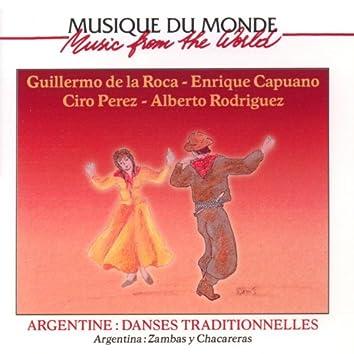 Argentina: Zambas y Chacarevas (Danses traditionnelles d'Argentine)