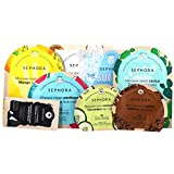 Sephora The Enchanted Jungle Face Mask Holiday Set - Watermelon, Cucumber, Caffeine, Charcoal, Coconut, Bubble, Cactus,...