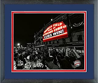 Wrigley Field Chicago Cubs 2016 World Series Game 7 Spotlight Photo (Size: 12.5