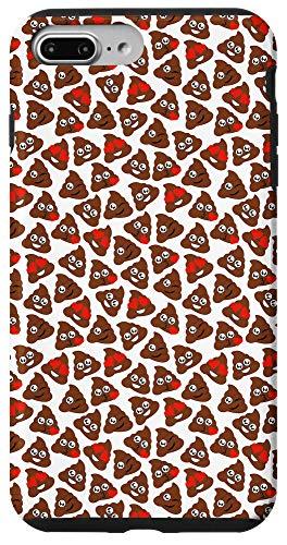 iPhone 7 Plus/8 Plus Poop Emoji Phone Case Patterned Poo Case