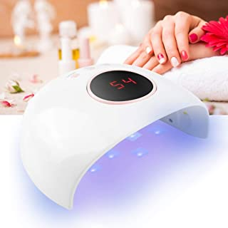 Máquina de secado de uñas, secador de uñas, máquina de fotocurado con lámpara UV para esmalte de uñas UV de 24 W, máquina de secado rápido de luz de uñas, secador de gel LED de curado de