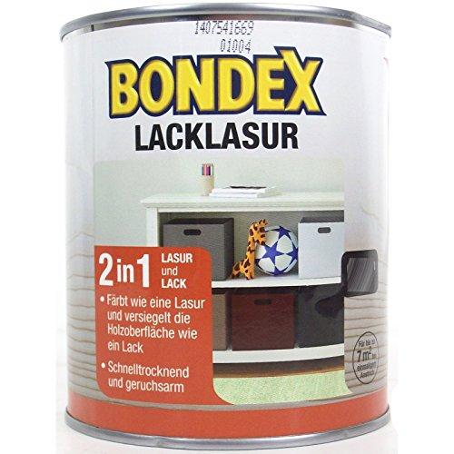Bondex Lacklasur Weiß 0,75 l - 352590