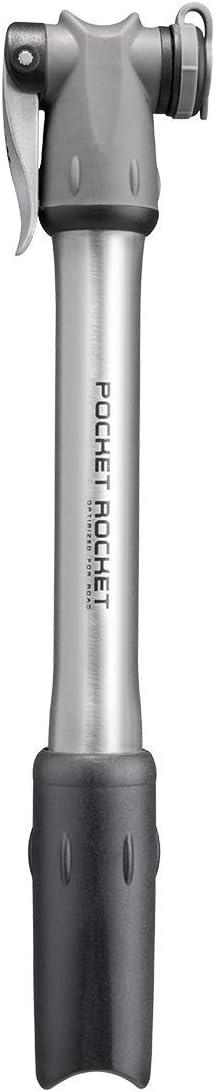 Topeak Pocket Rocket Master Max 56% OFF shipfree Blaster Bike Pump x Silver L Black