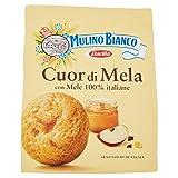 Mulino Bianco Biscotti Frollini Cuor di Mela, Colazione Ricca di Gusto, Senza Olio di Palm...