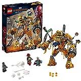 LEGO Marvel Spider-Man Spider-Man et la bataille de l'Homme de mtal Jeu super-hros, 7 Ans et Plus, 294 Pices 76128